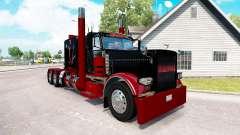 Deadpool skin for the truck Peterbilt 389