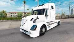 Skin North American for Volvo truck VNL 670 for American Truck Simulator