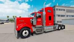 Скин Knight Transportation на Kenworth W900