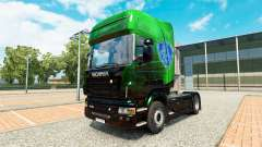 Exclusive Metallic skin for Scania truck