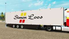 Semitrailer refrigerator Schmitz Simon Loos