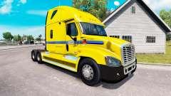 Skin on Penske truck Freightliner Cascadia