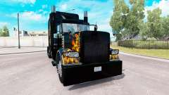 Ghost Rider skin for the truck Peterbilt 389