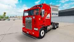 Scuderia Ferrari skin for Kenworth K100 truck