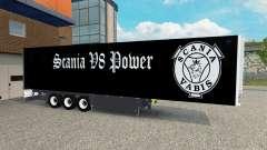 Semi-Trailer Schmitz Cargobull Scania V8