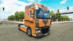 The skin on the tractor unit DAF XF 105.510