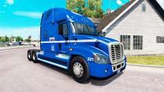 Skin Robert Heath on tractor Freightliner Cascad