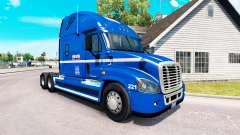 Skin Robert Heath on tractor Freightliner Cascad