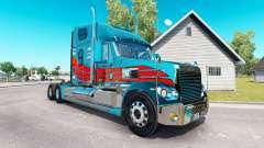 The skin on the truck Freightliner Coronado