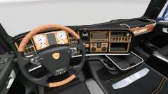 The Dark Line Exclusive interior v2.0 for Scania