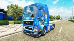 Ocean skin for MAN truck