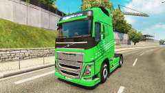 Green Arrow skin for Volvo truck