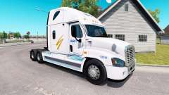 Skin Swift on tractor Freightliner Cascadia