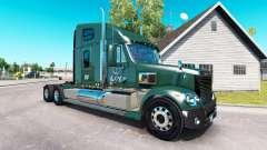 Skin LDI on the truck Freightliner Coronado