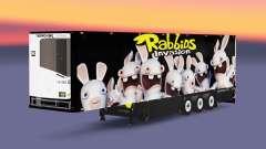 Semitrailer refrigerator Schmitz Rabbids