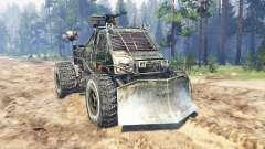 GAZ-3302 [Metro 2033] for Spin Tires
