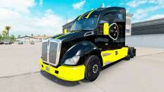 Pittsburgh Steelers skin for the Kenworth tracto