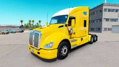 Skin Port Vale on yellow tractor Kenworth