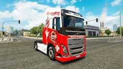 Skin 1. FC Koln at Volvo trucks