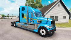Skin A&R on the truck Freightliner Coronado