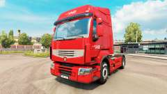 Norbert Dentressangle skin for Renault truck