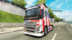 USA skin for Volvo truck