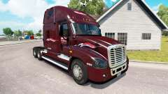 Skin Millis on tractor Freightliner Cascadia