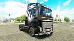 Valentina skin for Volvo truck for Euro Truck Simulator 2