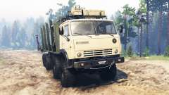 KamAZ-63501-996 Mustang for Spin Tires