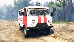 UAZ-39629 for Spin Tires