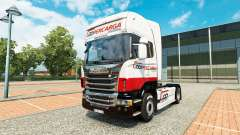 Coopercarga Logistica skin for Scania truck