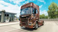 Ferrugem skin for Scania truck