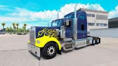 Skin on Hard Truck tractor Kenworth W900