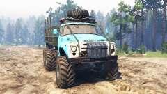 ZIL-165 [swamp monster] for Spin Tires