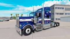 Skin Uncle D Logistics on the truck Kenworth W90