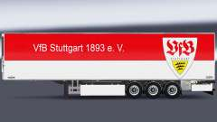 Semi-Trailer Chereau VfB Stuttgart