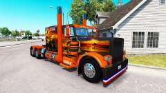 Skin USA Texas for the truck Peterbilt 389