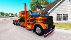 Skin USA Texas for the truck Peterbilt 389