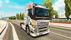 Skin Euro Logistics at Volvo trucks
