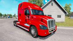 Skin on Knight truck Freightliner Cascadia