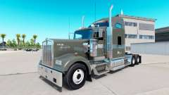 Skin on Knight Refrigerated truck Kenworth W900