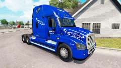 Skin Prime Inc. on tractor Freightliner Cascadia