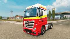 Simon Loos skin for the truck Mercedes-Benz