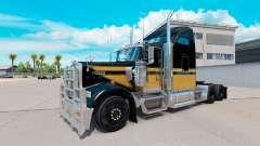 Skin Snowman on the truck Kenworth W900