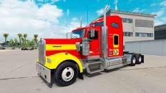 Skin USMC v1.01 on the truck Kenworth W900 for American Truck Simulator