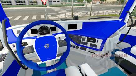 HSV interior for Volvo for Euro Truck Simulator 2
