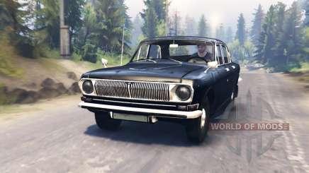 GAZ-24 Volga for Spin Tires