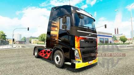 Asphalt Cowboys skin for Volvo truck for Euro Truck Simulator 2