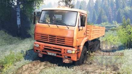 KamAZ-6522 v8.0 for Spin Tires