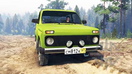VAZ-2121 Niva for Spin Tires